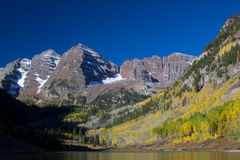 Autumn Splendor at Maroon Bells Stock Images