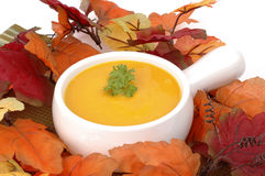 Autumn Squash Soup Stock Photography