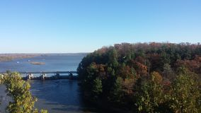 Autumn at Starved Rock Royalty Free Stock Photos