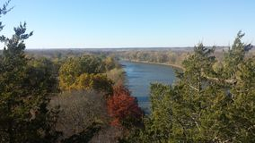 Autumn at Starved Rock Royalty Free Stock Images