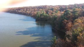 Autumn at Starved Rock Stock Image