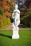 Autumn statue Royalty Free Stock Image