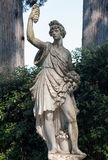 Autumn statue, in the Boboli Garden, Florence. Florence,  ITALY - July 18, 2017: Autunno, by Giovanni Caccini circa 1600 is a statue located in the Boboli Stock Images