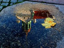 Autumn in Szczecin Stock Photo
