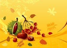 Autumn still life stock illustration
