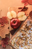 Autumn still life of food Royalty Free Stock Photo