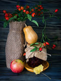 Autumn still-life with large group Stock Images