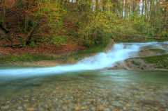 Autumn stream Royalty Free Stock Photo