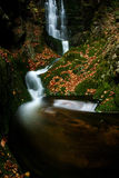 Autumn stream in Giant mountains Stock Images