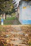 Autumn Street Stock Photos