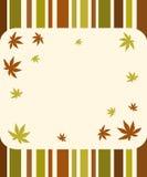 Autumn stripes Royalty Free Stock Photos
