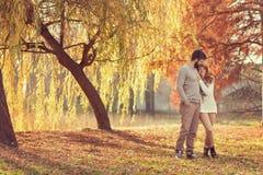 Autumn Stroll Imagens de Stock