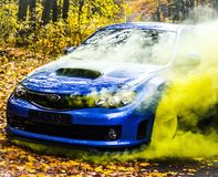 Subaru Impreza WRX STI Racecar Sport car Stock Photos