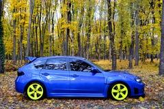 Subaru Impreza WRX STI Racecar Sport car Stock Images