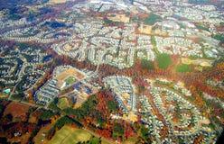 Autumn suburbia Stock Images