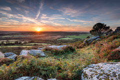 Autumn Sunrise Image stock