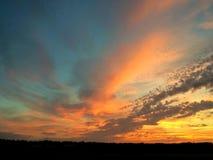 Autumn Sunrise Foto de Stock Royalty Free