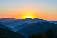 Autumn sunrise royalty free stock image