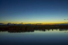 Autumn sunrise Royalty Free Stock Photography