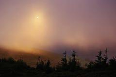 Autumn sunset Stock Photography