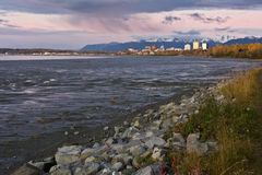 Autumn in Anchorage Stock Images