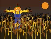 Halloween scarecrow Royalty Free Stock Photography