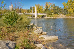 Autumn Surrounding Jaiper Bridge Stock Photos