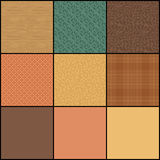 Autumn Swatches Stock Photo