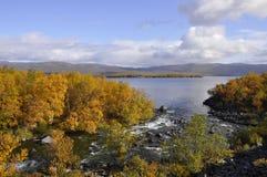 Autumn in Sweden Stock Image