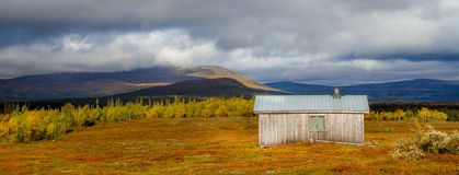 Autumn in Sweden. Colors of autumn in the the swedish mountains Stock Photo