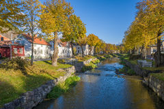 Autumn in Sweden Stock Photography
