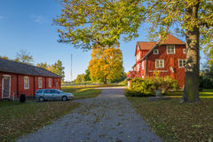 Autumn in Sweden Royalty Free Stock Photo
