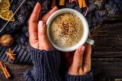 Free Autumn Sweet Hot Drink Royalty Free Stock Photo - 188030405
