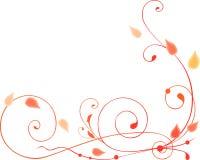 Autumn Swirls Royalty Free Stock Photography