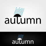 Autumn symbol Royalty Free Stock Images