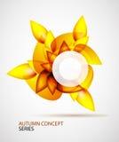 Autumn symbol Stock Images