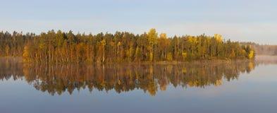 Autumn symmetry Stock Image