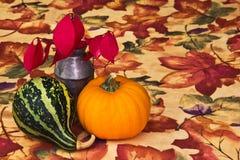 Autumn Table Decoration Stock Photography