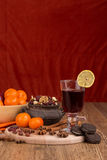 Autumn table Royalty Free Stock Images