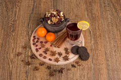 Autumn table Royalty Free Stock Photography