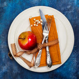 Autumn Table Setting Stockfotografie