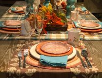 Free Autumn Tablesetting Stock Photos - 162828333