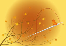 The autumn tailor Royalty Free Stock Photo