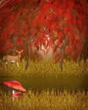 Autumn Tale background Royalty Free Stock Photo