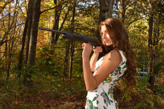 Autumn target shoot. Stock Images