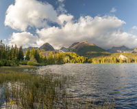 Autumn in the Tatra Mountains,Strbskie Pleso Lake,Slovakia Stock Photos