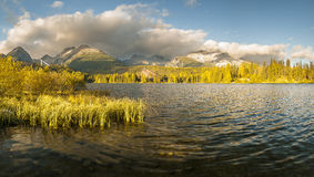 Autumn in the Tatra Mountains,Strbskie Pleso Lake,Slovakia Royalty Free Stock Photography