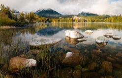 Autumn in the Tatra Mountains,Strbskie Pleso Lake,Slovakia Royalty Free Stock Photos