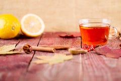 Autumn Tea Stock Foto's