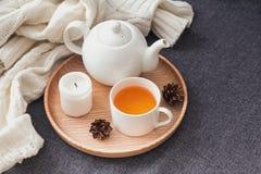 Autumn Tea At Home. Stock Image